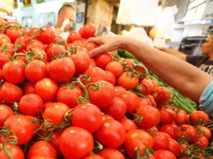 Росстатт зафиксировал снижение цен на помидоры